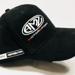 Caps with with the Media Distribudion company logo. High quality cap with print.
