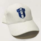 Withe caps with embroidery for Wisla Plock football club