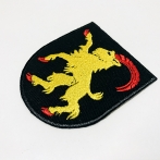 Embroidered patch, Embroidered coat of arms, computer patches from Poland. High quality colorful embroidery.