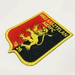 MKS Kasztelan Sierpc, embroidered emblem for the football team. T-shirts with embroidery. T-shirt, backpack with a patch.