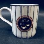 Coffe mug. With us you will create a mug with your own text. You can choose the colors, graphic, fonts and text size yourself.