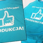 T-shirts for polish refinery employees. T-shirts with custom print. Print Your own logo on t-shirt and other apparel.